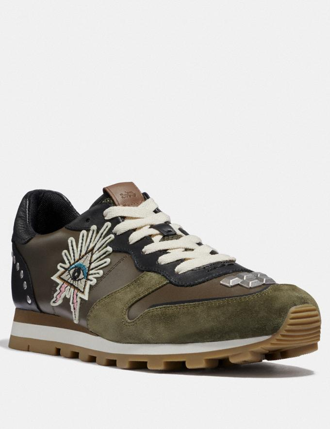 Coach C118 With Studs and Eye Ivy Men Shoes Trainers