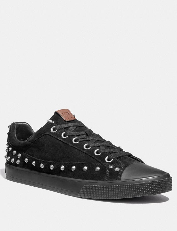 Coach C101 With Studs Black SALE Men's Sale Shoes
