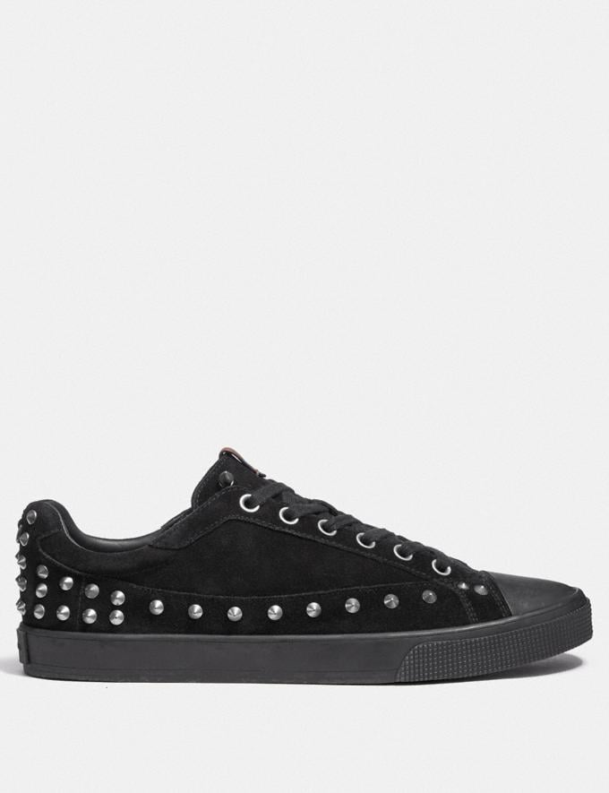 Coach C101 With Studs Black SALE Men's Sale Shoes Alternate View 1