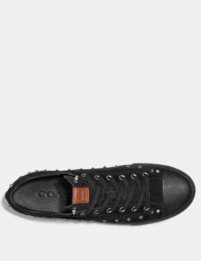 Coach C101 With Studs Black SALE Men's Sale Shoes Alternate View 2