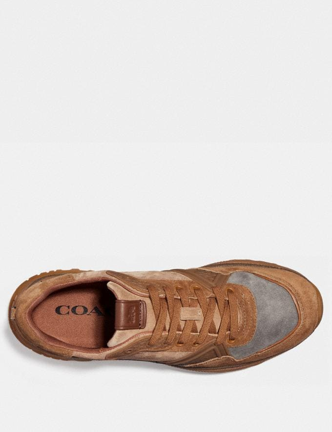 Coach C143 Runner Camel Gifts For Him Bestsellers Alternate View 2