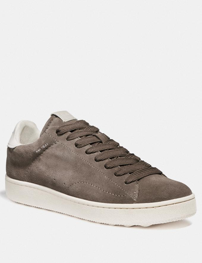 Coach C101 Low Top Sneaker Heather Grey New Men's New Arrivals Shoes