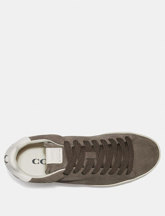 Coach C101 Low Top Sneaker Heather Grey New Men's New Arrivals Shoes Alternate View 2