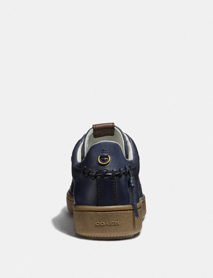 Coach C101 Low Top Sneaker Denim Men Shoes Trainers Alternate View 3