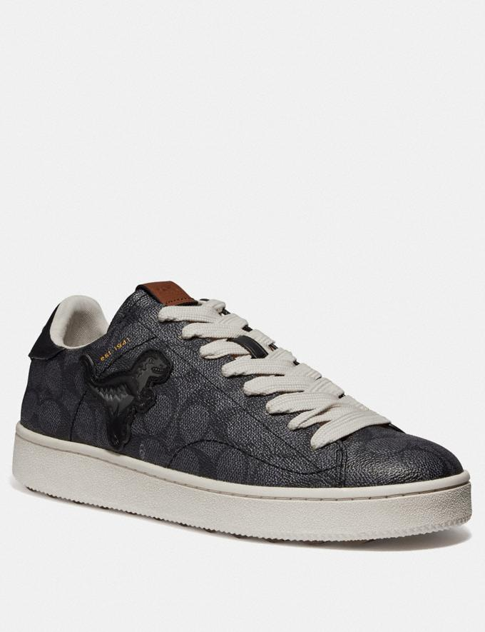 Coach C101 With Rexy Charcoal New Men's New Arrivals Shoes
