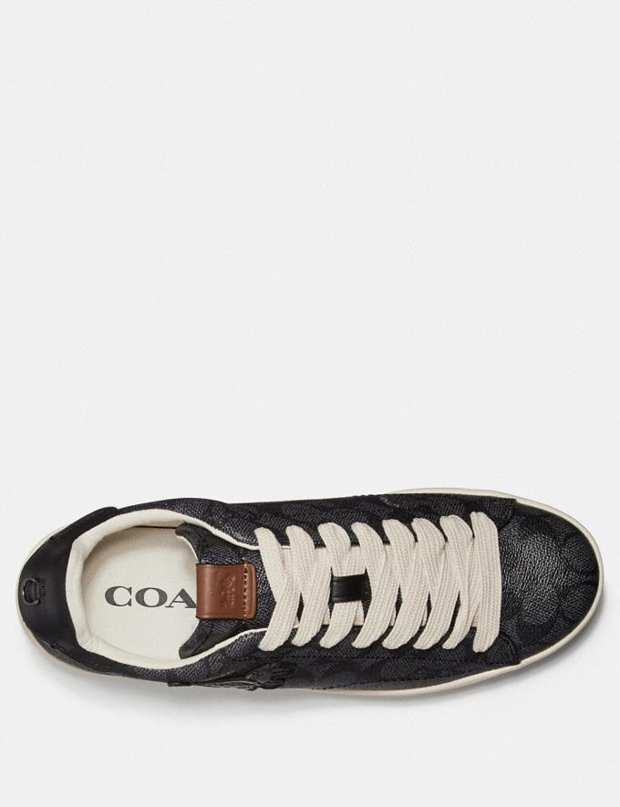 Coach C101 With Rexy Charcoal Men Shoes Trainers Alternate View 2