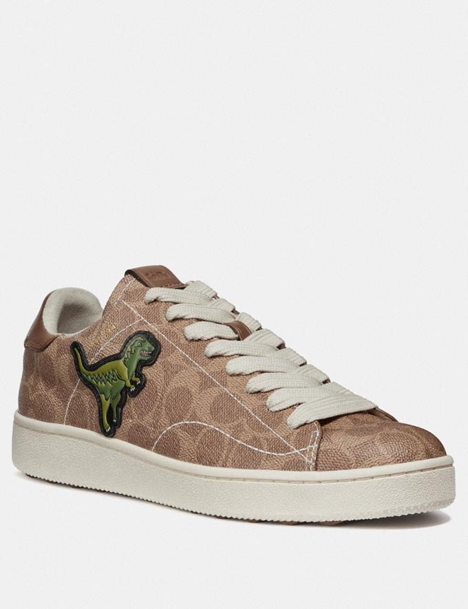 Coach C101 With Rexy Khaki Men Shoes Trainers