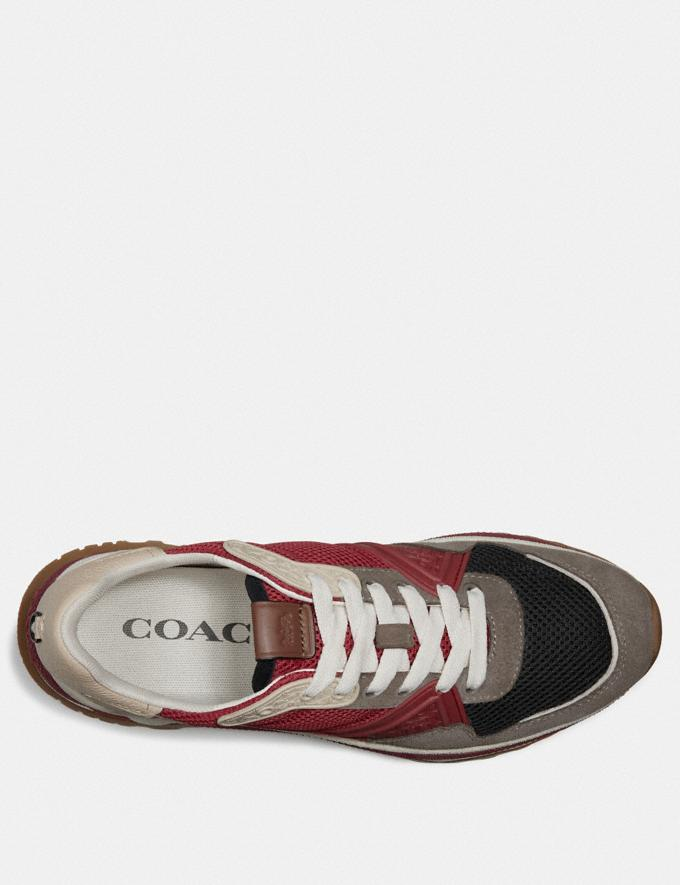 Coach C143 Runner Red Multi  Alternate View 2
