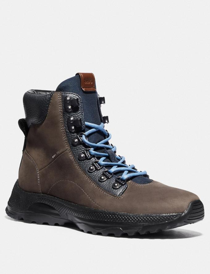 Coach Urban Hiker Boot Dirty Grey Men Shoes Boots