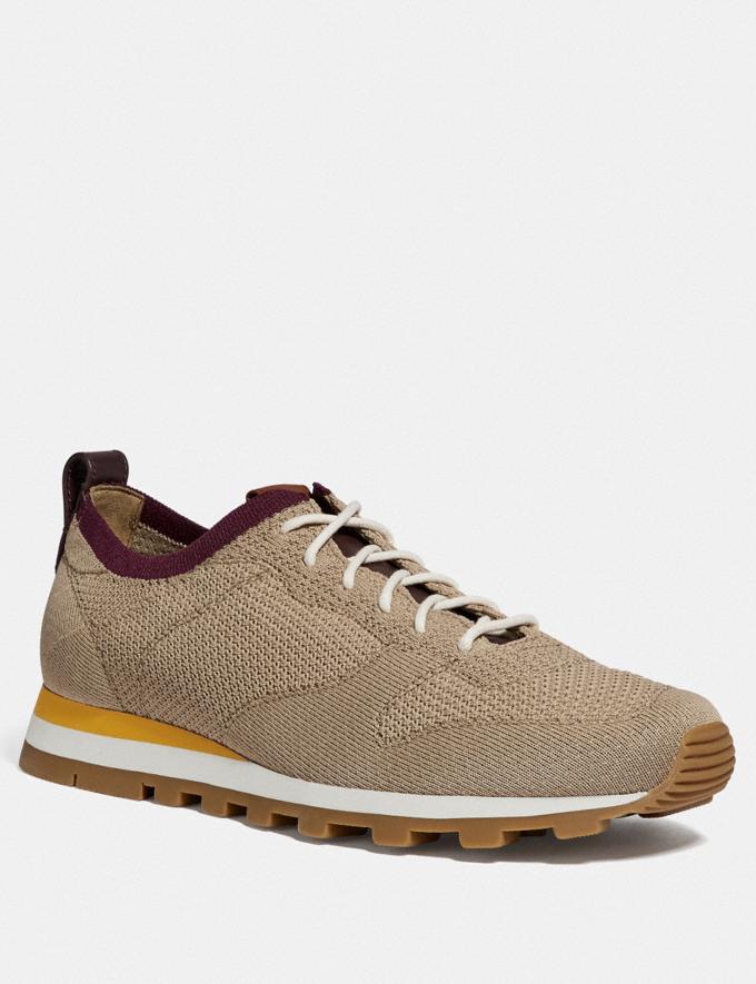 Coach Derby Runner Oat Men Shoes Casual