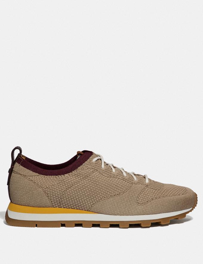 Coach Derby Runner Oat New Men's New Arrivals Shoes Alternate View 1