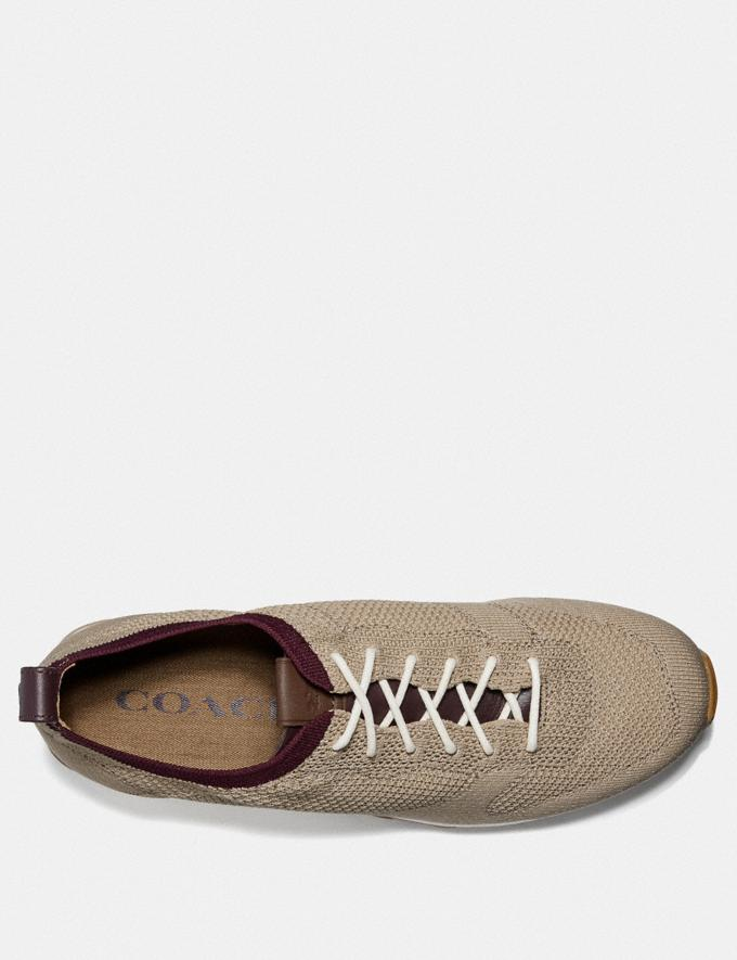 Coach Derby Runner Oat New Men's New Arrivals Shoes Alternate View 2