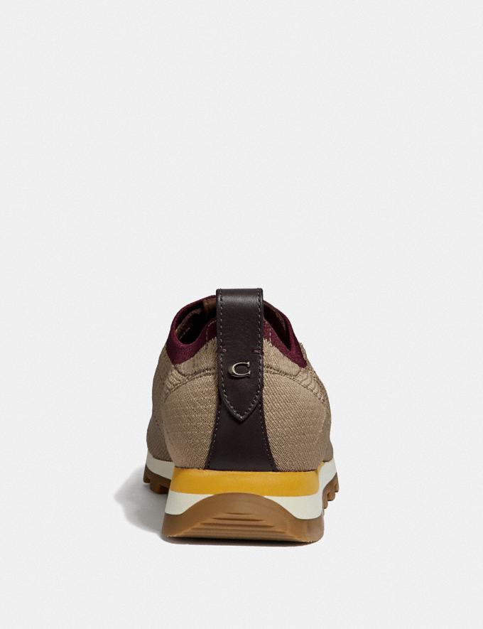 Coach Derby Runner Oat Men Shoes Casual Alternate View 3