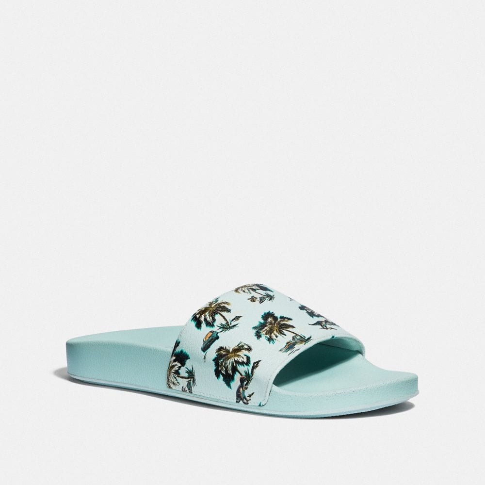 Coach Slide With Print
