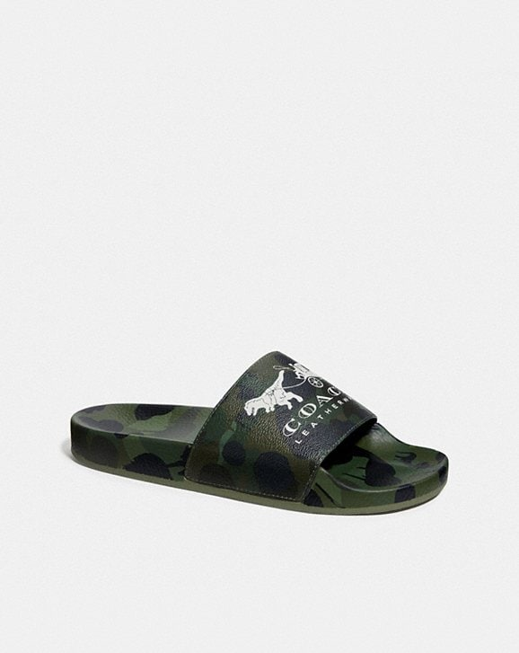 Coach SLIDE WITH WILD BEAST PRINT