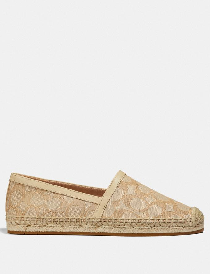 Coach Casey Espadrille Ivory/Cream  Alternate View 1