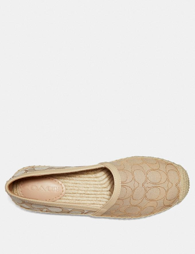 Coach Casey Espadrille Ivory/Cream  Alternate View 2