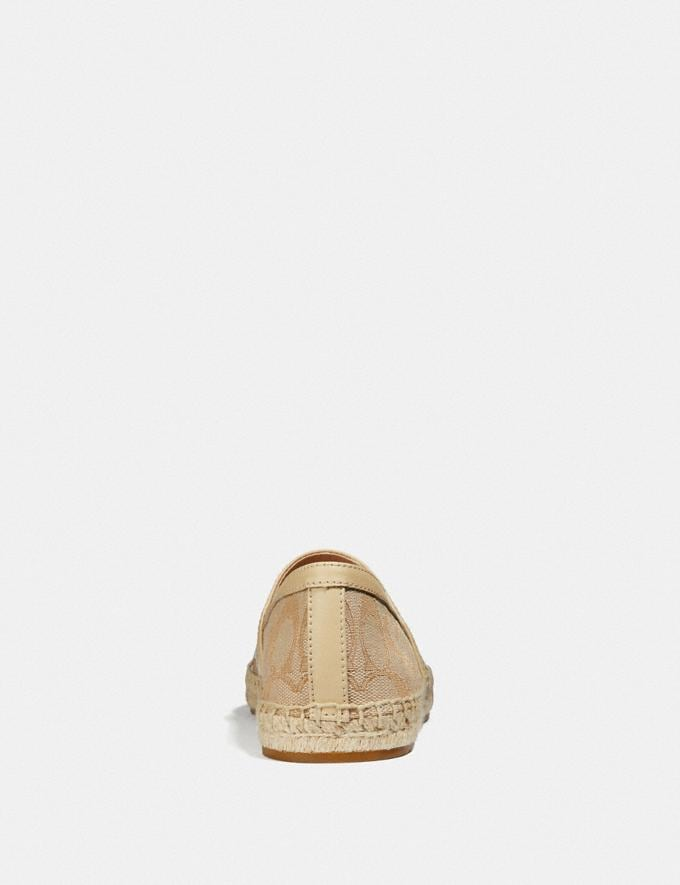 Coach Casey Espadrille Ivory/Cream  Alternate View 3