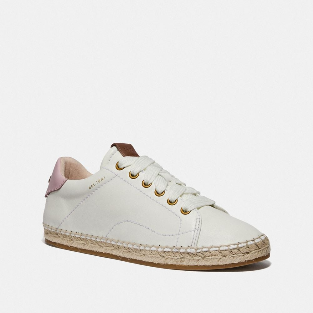 Coach C101 Low Top Espadrille