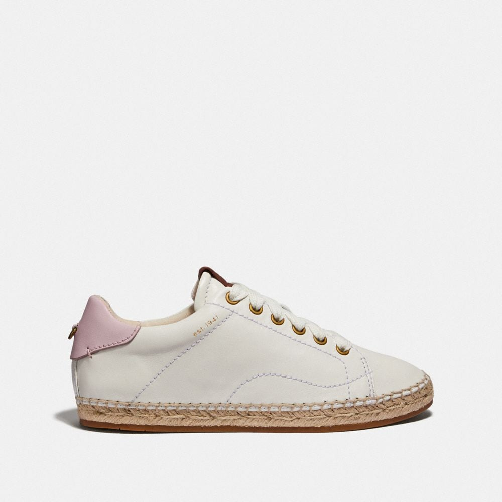 Coach C101 Low Top Espadrille Alternate View 1