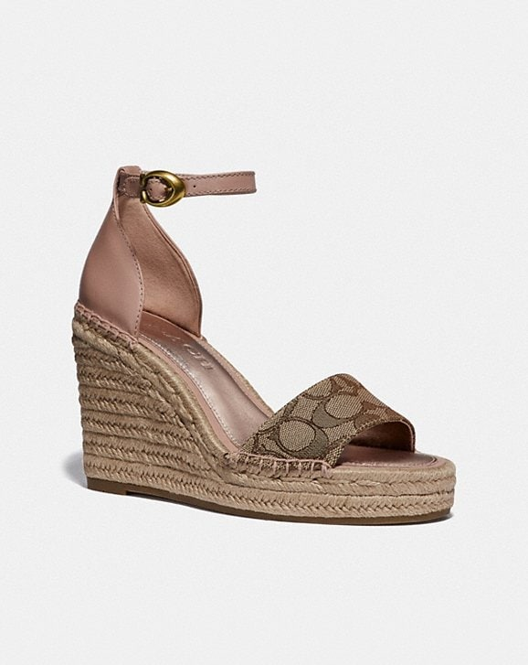 Coach KIT WEDGE ESPADRILLE