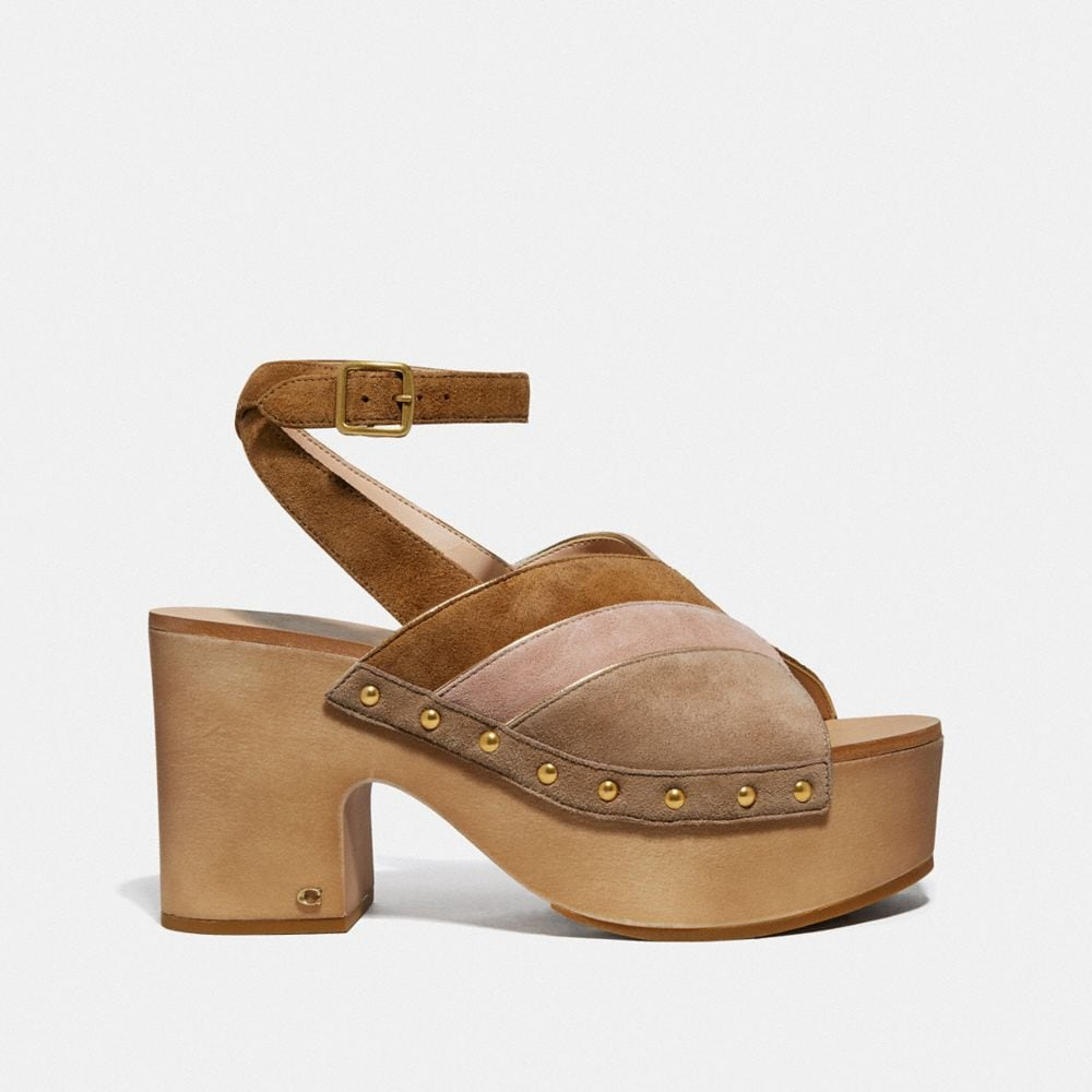 Coach Nettie Clog Sandal Alternate View 1