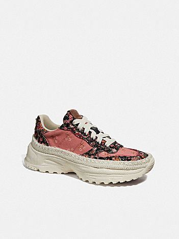 c143 espadrille runner with mix posey cluster print