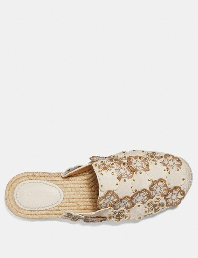 Coach Cali Espadrille Slide Chalk Multi  Alternate View 2