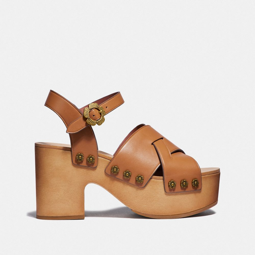 Coach Nessa Clog Sandal Alternate View 1