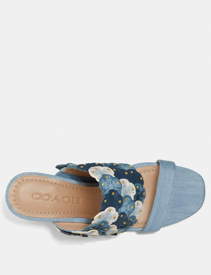 Coach Mae Mule Denim  Alternate View 2