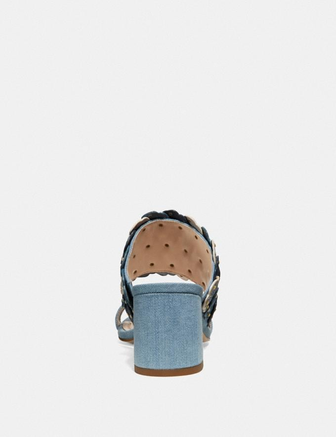 Coach Mae Mule Denim  Alternate View 3