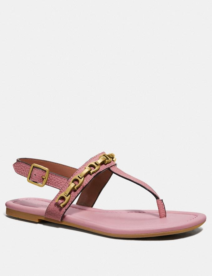 Coach Jenna Sandal Light Blush SALE Women's Sale Shoes
