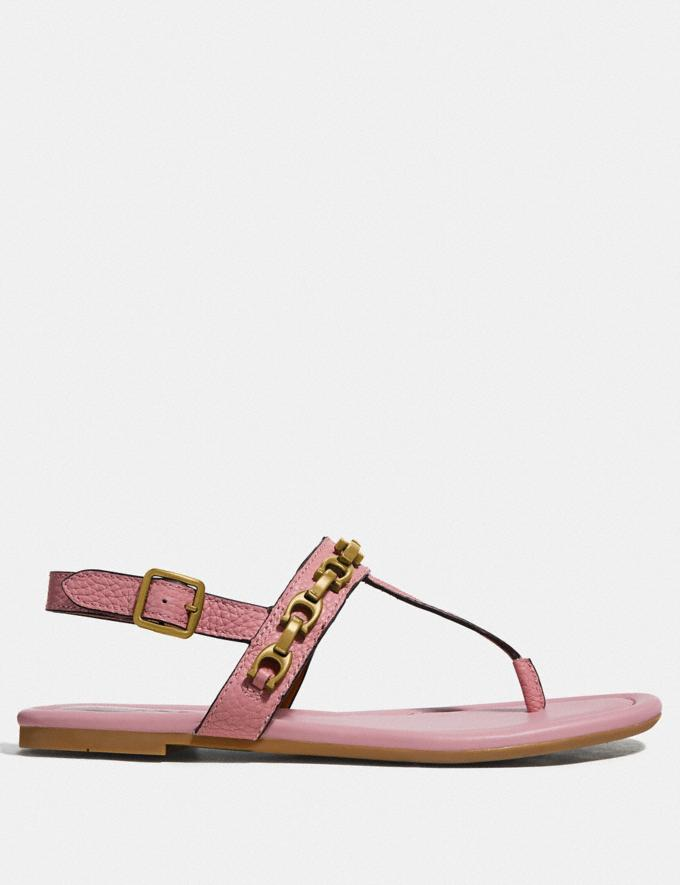 Coach Jenna Sandal Light Blush SALE Women's Sale Shoes Alternate View 1