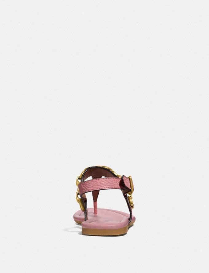 Coach Jenna Sandal Light Blush SALE Women's Sale Shoes Alternate View 3