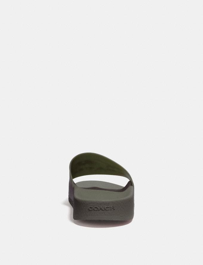 Coach Slide With Coach Military Green SALE Private Event Men's Alternate View 3