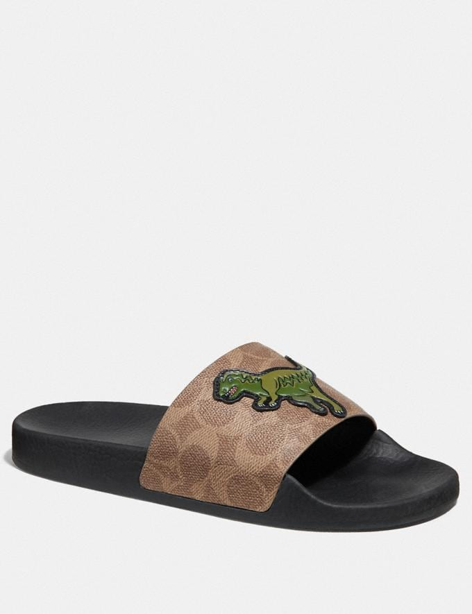 Coach Udele Sport Slide With Rexy Tan Gifts For Him Bestsellers