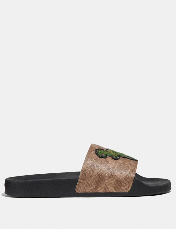 Coach Udele Sport Slide With Rexy Tan Gifts For Him Bestsellers Alternate View 1
