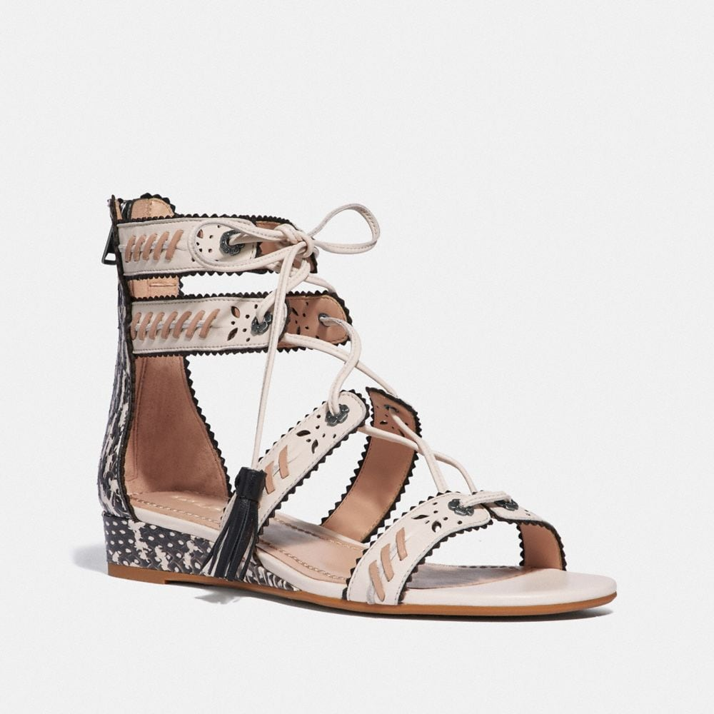 via demi wedge sandal