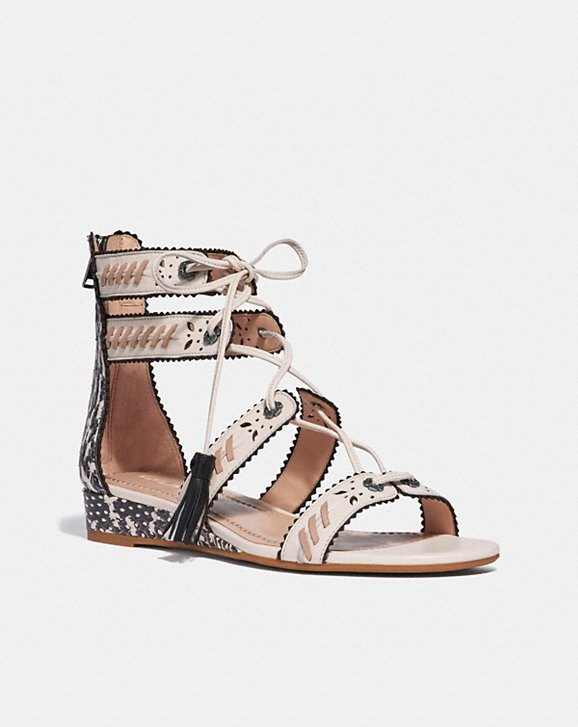 Coach VIA DEMI WEDGE SANDAL