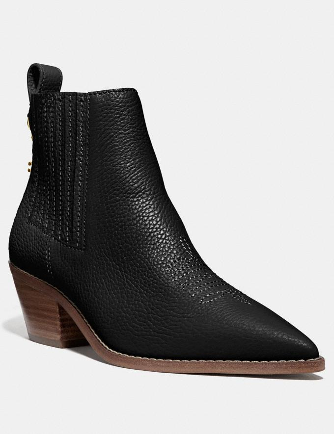 Coach Melody Bootie Black SALE Women's Sale Shoes