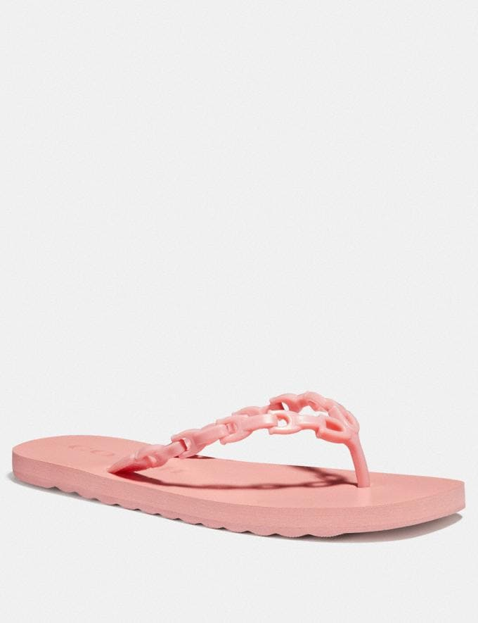 Coach Sirena Flip Flop Peony Women Shoes Sandals