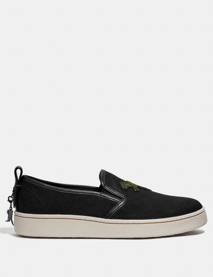 Coach C115 Slip on Black  Alternate View 1