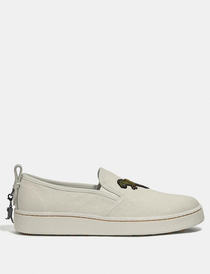 Coach C115 Slip on Chalk  Alternate View 1