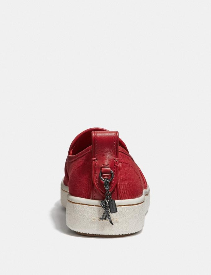 Coach C115 Slip on Rexy Red  Alternate View 3