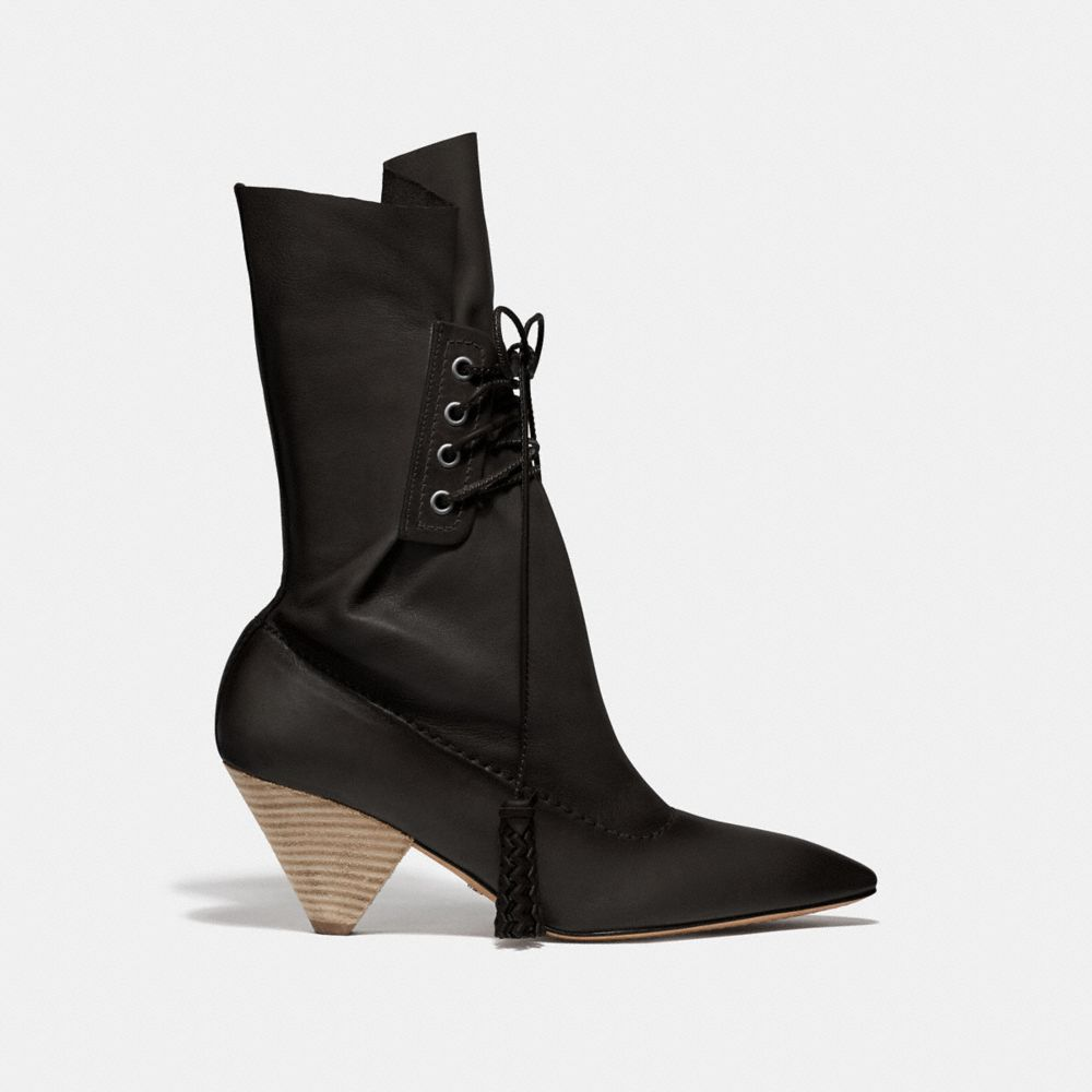 Coach LACE UP TASSLE BOOT Alternate View 1