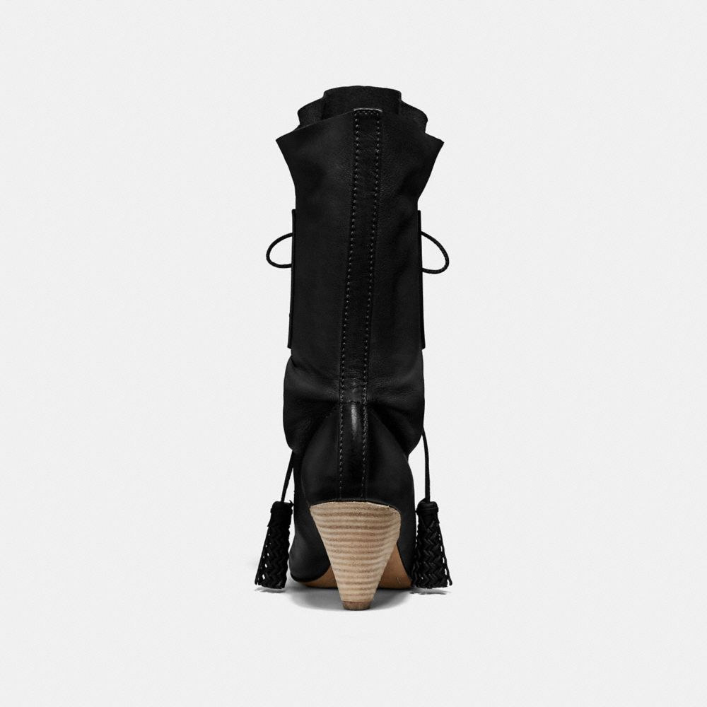 Coach Lace Up Tassle Boot Alternate View 3