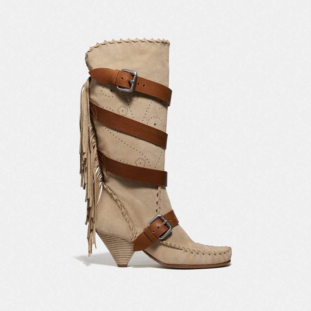 Coach Fringe Buckle Boot Alternate View 1