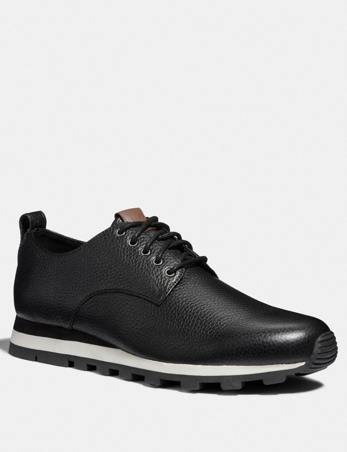 Coach Derby Runner Black VIP SALE Men's Sale Shoes