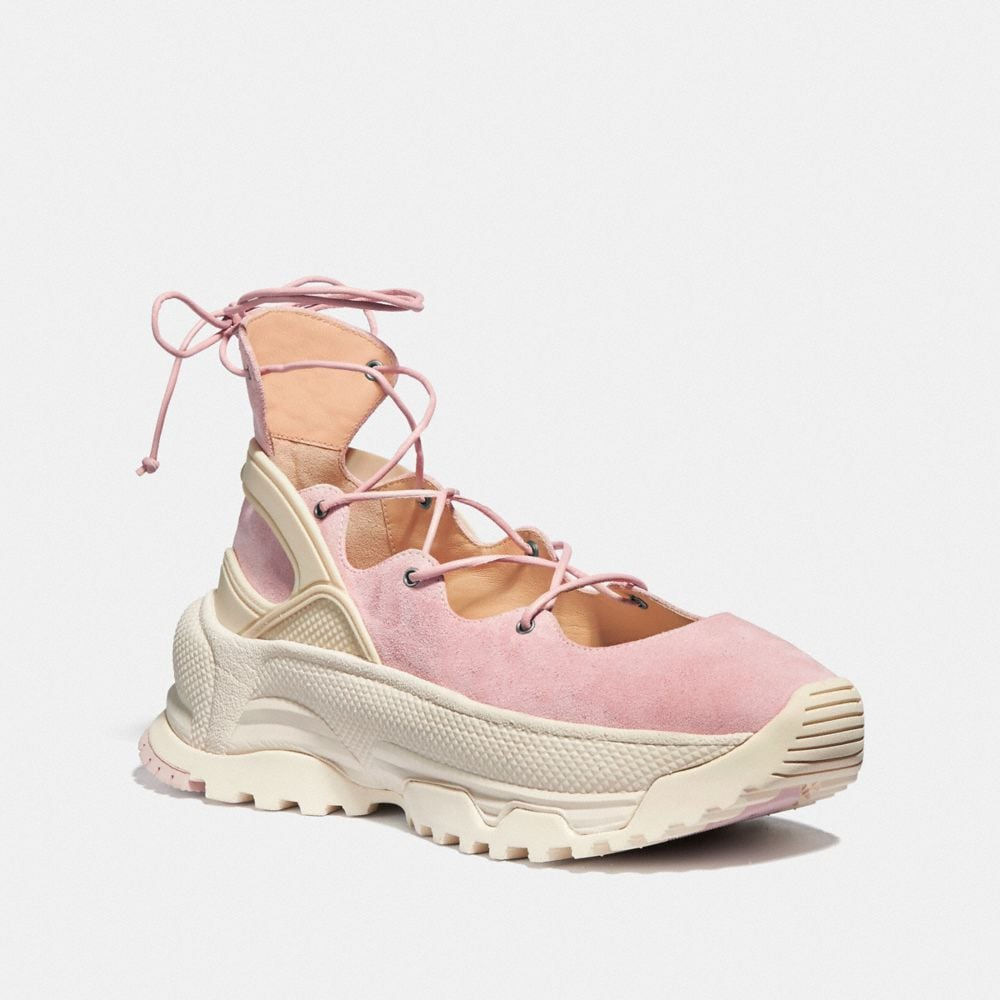 LACE UP BALLERINA SNEAKER
