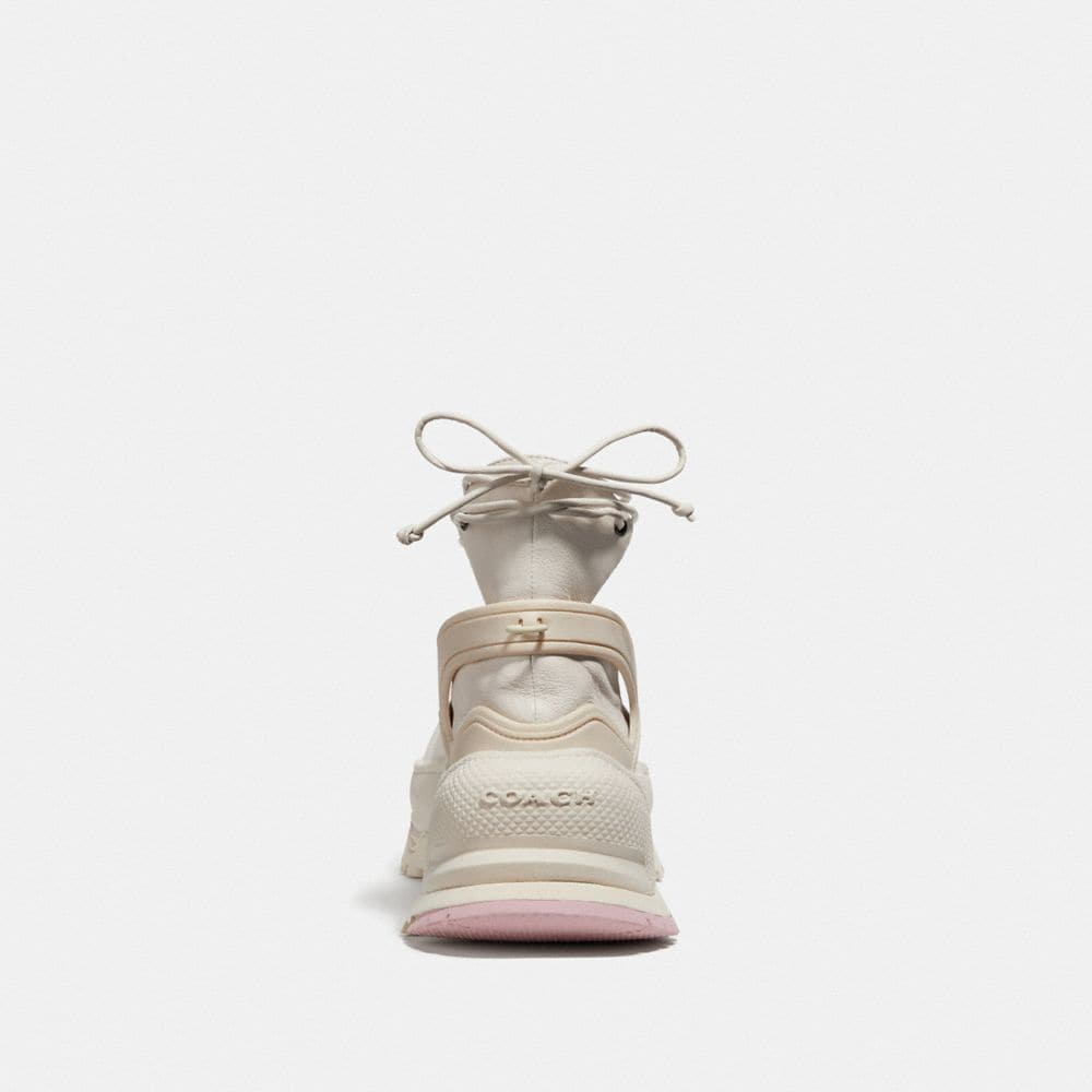 Coach Lace Up Ballerina Sneaker Alternate View 3
